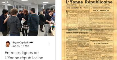 L'Yonne Républicaine - Publication des étudiants de l'école de journalisme EFJ
