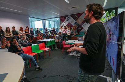 Actu EFJ - Voyage d'études au coeur du journalisme entrepreneurial