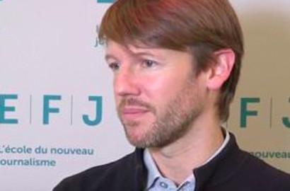 Actu EFJ - Steven HEARN, directeur du Théâtre de la Gaité Lyrique