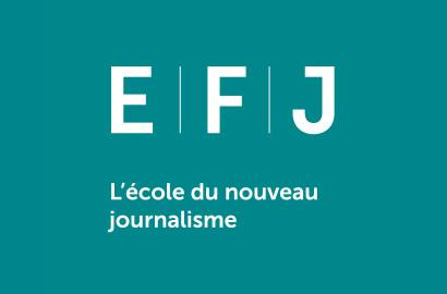 Actu EFJ - L'EFJ devient l'école du Nouveau Journalisme