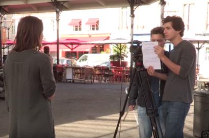 """Actu EFJ - Atelier """"TV Lab"""" : tournage / montage vidéo avec Bordeaux.TV"""