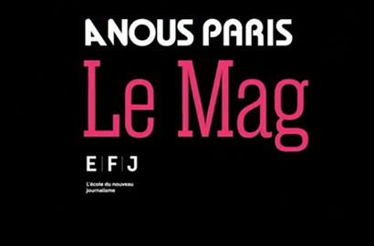 """Actu EFJ - Partenariat """"vidéo & MoJo"""" avec l'hebdomadaire gratuit """"À NOUS Paris"""""""