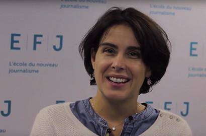 Actu EFJ - Stéphanie FONTAINE, Journaliste reporter