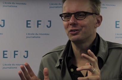 """Actu EFJ - Luc HERMANN, producteur de l'émission """"Cash Investigation"""" sur France 2"""