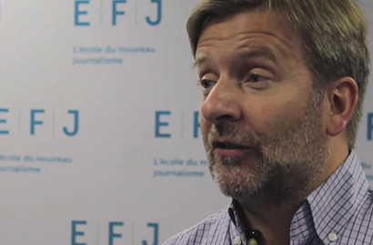 "Actu EFJ - David SERVENAY, co-fondateur de la ""Revue dessinée"""