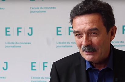 Actu EFJ - Edwy PLENEL, co-fondateur et directeur de Mediapart