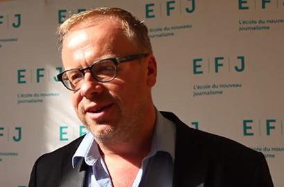 Actu EFJ - Christophe DELOIRE, Secrétaire Général de Reporter Sans Frontières