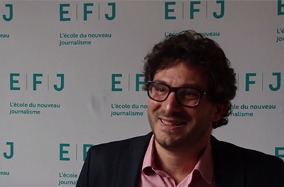 Actu EFJ - Ludovic BLECHER, Dirigeant du Fonds Google pour l'Innovation Numérique de la Presse.