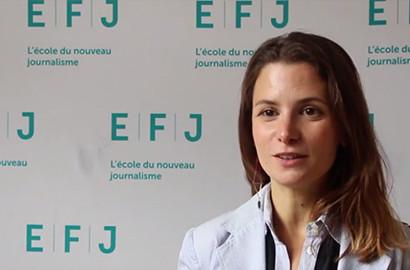 Actu EFJ - Emilie BERGOUIGNAN, Responsable de projet au CFI