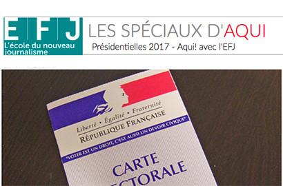 Actu EFJ - L'EFJ partenaire du média digital Aqui.fr
