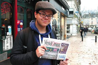 Actu EFJ - Un étudiant journaliste de l'EFJ dans la presse locale