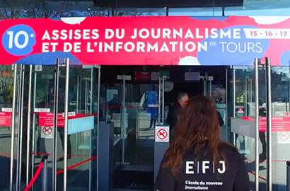 Actu EFJ - L'EFJ aux Assises du Journalisme de Tours