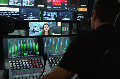 Actu EFJ - Une étudiante EFJ à l'antenne sur France Télévisions