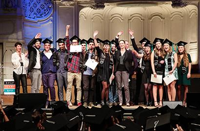 Actu EFJ - Revivez les cérémonies de remise de diplômes - Promotion 2017