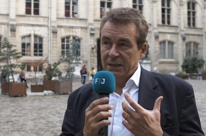 Actu EFJ - Eric SCHERER, Directeur de la prospective de France TV