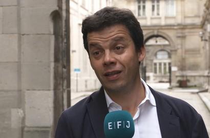 Actu EFJ - Alexis DELAHOUSSE, Directeur de BFM Paris