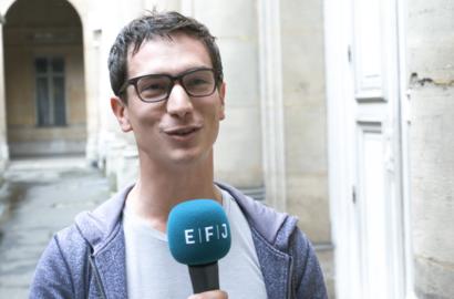 Actu EFJ - Nicolas KAYSER-BRIL, Pionnier du Datajournalisme