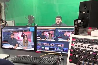 Actu EFJ - Atelier média TV : Réaliser un journal télévisé