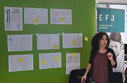 """Actu EFJ - Atelier """"Web to Print"""" : Création d'un journal papier"""