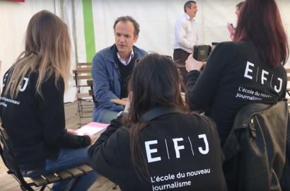 Actu EFJ - Reportages vidéos à l'Escale du Livre