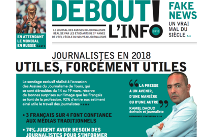 "Actu EFJ - L'EFJ ""Reporter officiel"" des Assises du Journalisme"