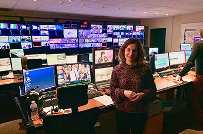 Actu EFJ - Le stage de journaliste TV de Laura chez LCI