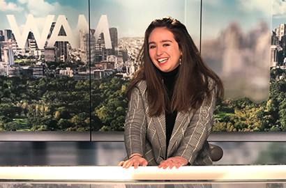 Actu EFJ - Etudes de journalisme à l'EFJ : Zoom sur le stage de fin d'études d'Esther à la TV