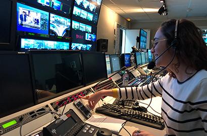 Actu EFJ - Etudes de journalisme à l'EFJ : zoom sur le stage de fin d'études de Marine pour C8