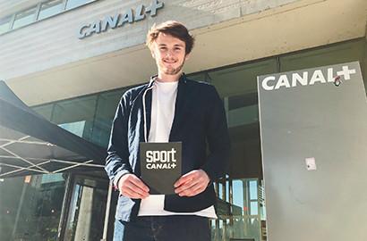 Actu EFJ - En stage de journaliste sportif chez Canal + Sport