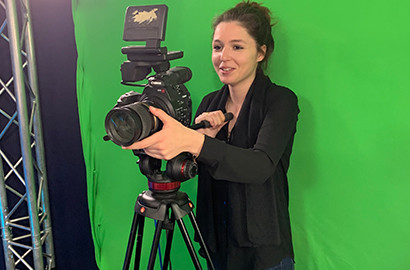 Actu EFJ - Marie, journaliste reporter en herbe