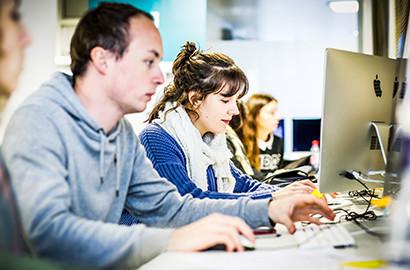 """Actu EFJ - Atelier """"Web to Print"""" - Les étudiants journalistes presse écrite"""