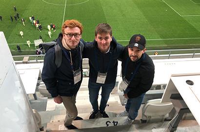 Actu EFJ - Journaliste sportif le temps d'un match