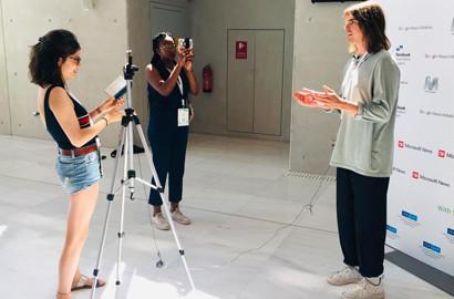 Actu EFJ - Partir à la rencontre des médias du monde entier durant sa formation journalisme