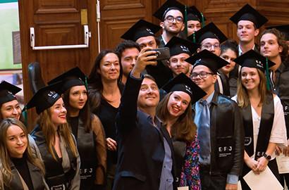 Actu EFJ - Remise des diplômes de la promotion 2019