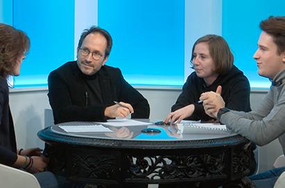 Actu EFJ - Les Ateliers Médias TV : en direct d'un studio Talk Show