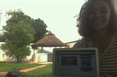 Actu EFJ - Anais, en stage de journalisme à l'international