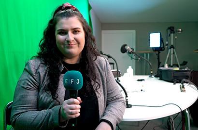 Actu EFJ - Production et montage vidéo, le stage de journalisme de Louise