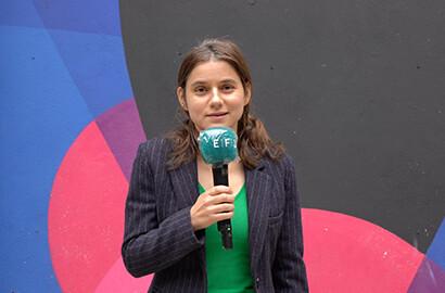 Actu EFJ - Clara Schmelck, intervenante à l'EFJ