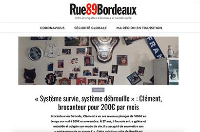 """Actu EFJ - Atelier """"Reportage"""" : Publications sur le média Rue 89"""