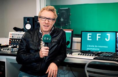 Actu EFJ - Le journaliste et animateur TV Jérôme Pitorin s'associe à l'EFJ!