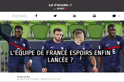 Actu EFJ - Stage au Figaro Sport : Au cœur de l'actualité sportive