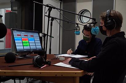 """Actu EFJ - Atelier """"Studio Radio"""" dans les locaux de l'INA"""