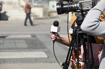Actu EFJ - Atelier de production audiovisuelle : diffusion de reportages à la télévision!