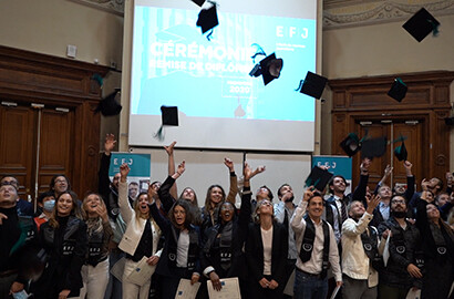 Actu EFJ - Revivez la cérémonie de remise de diplômes EFJ Promotion 2020