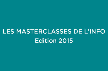 Actu EFJ - Les Masterclasses de l'info - Edition 2015
