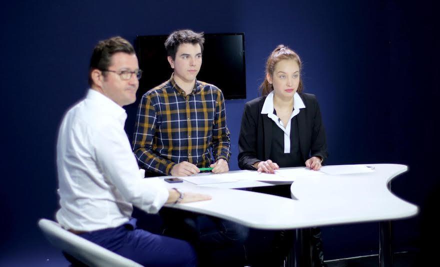 Formation journalisme TV - Ateliers médias de l'école de journalisme EFJ