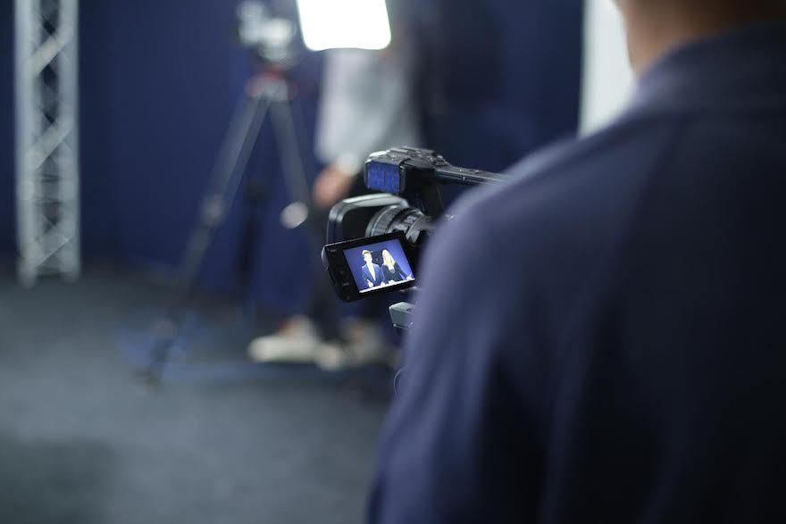 Atelier média EFJ - Tournage d'une émission TV diffusée sur Bordeaux.tv et Elysée.Tv