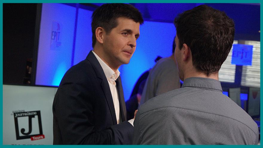 EFJ Partenaire des Assises du Journalisme - Rencontre avec Thomas Sotto (France 2)