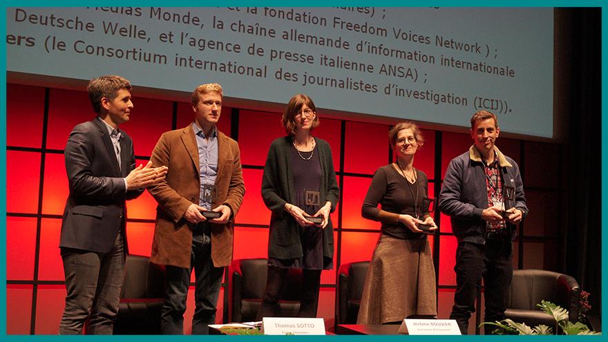 L'école de journalisme EFJ participe à la remise du grand prix du journalisme