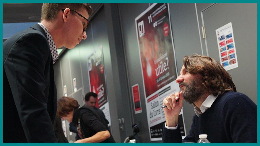 École de journalisme EFJ - Rencontre avec Frédéric BEIGBEDER